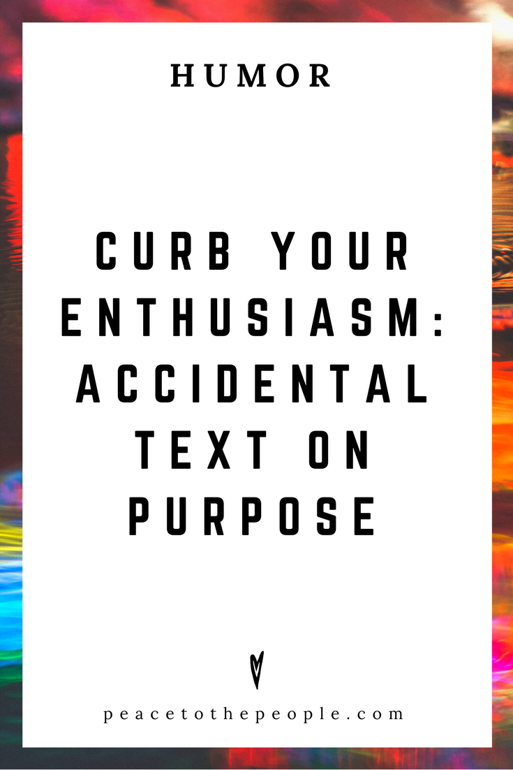 Curb Your Enthusiasm • Accidental Text on Purpose • Comedy • Culture • Hilarious •  LOL • Funny Videos  • Peace to the People