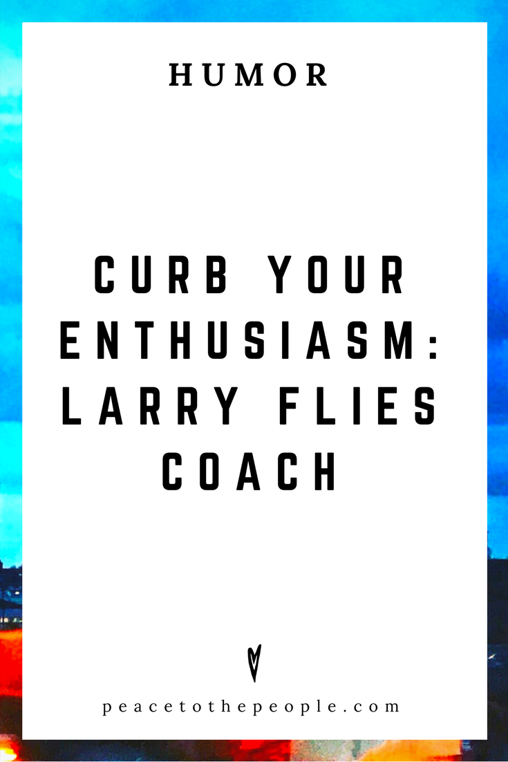 Curb Your Enthusiasm • Larry Flies Coach • Comedy • Culture • Hilarious •  LOL • Funny Videos  • Peace to the People