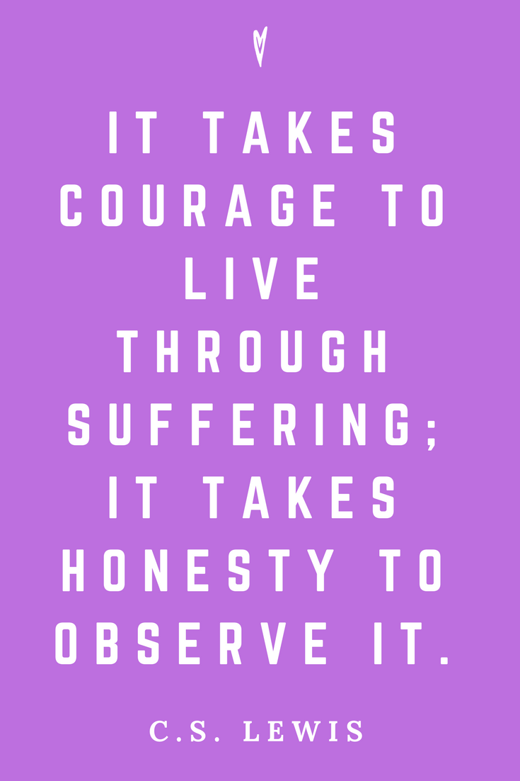C.S. Lewis • Top 25 Quotes • Peace to the People • Author • Writer • Motivation • Wisdom • Inspiration • Honesty.png