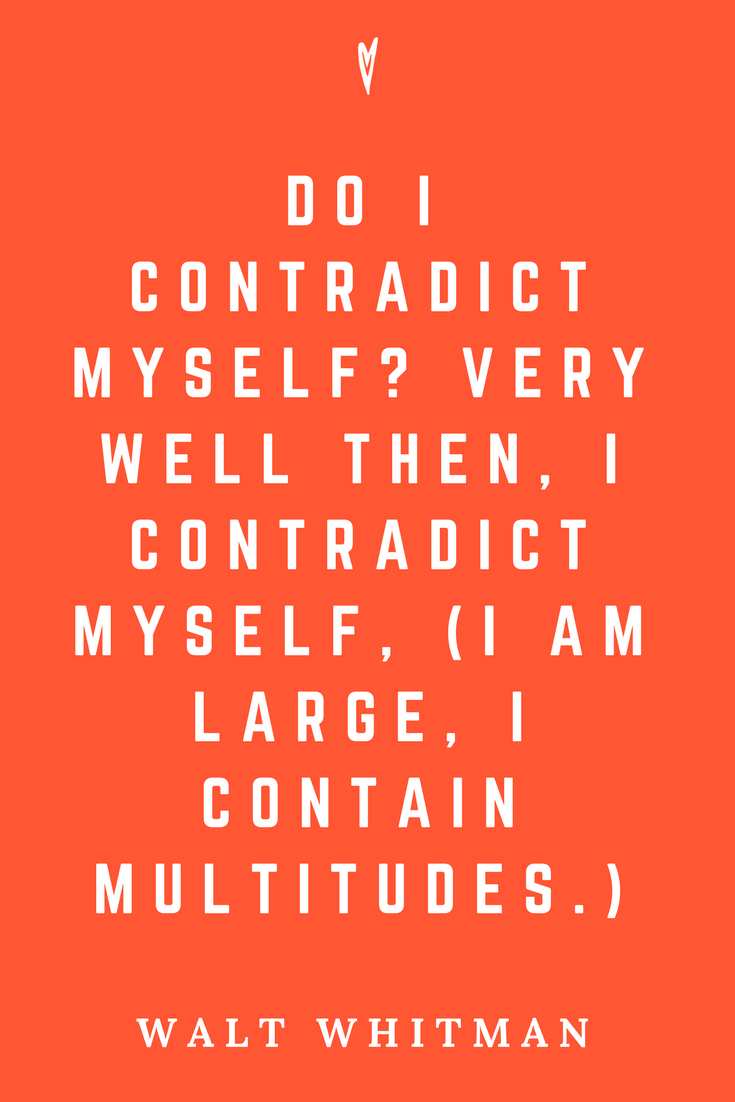 Walt Whitman • Top 35 Quotes • Peace to the People • Author • Writer • Poet • Culture • Motivation • Wisdom • Inspiration • I am Large.png
