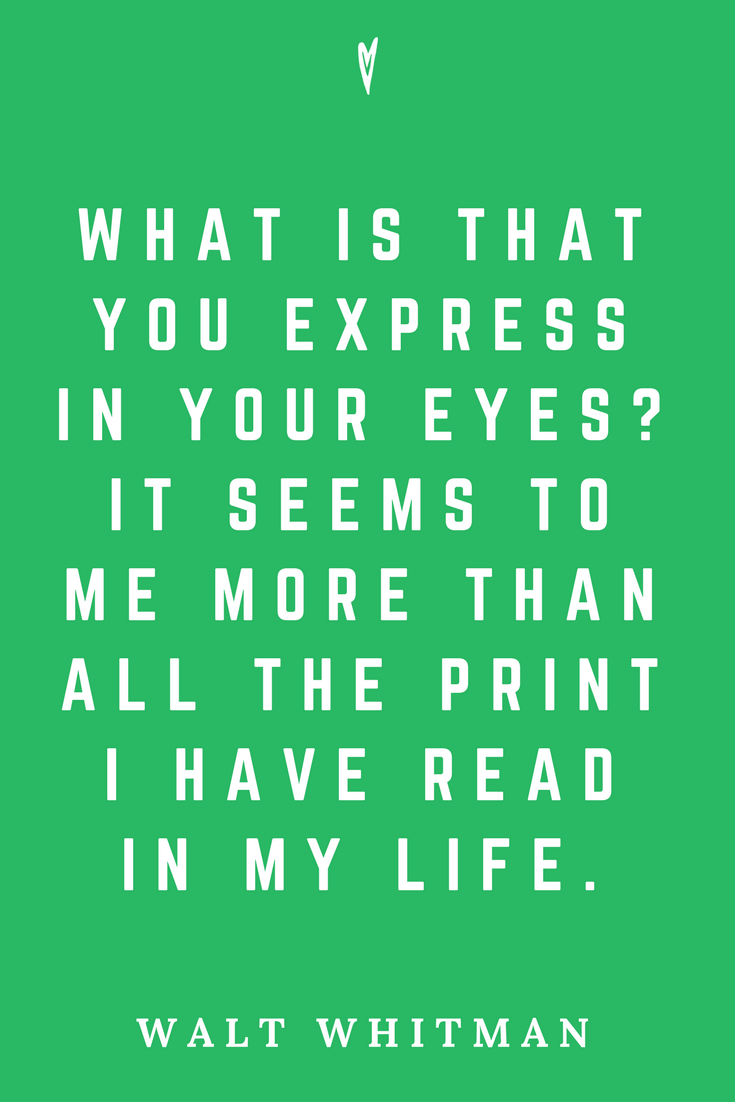 Walt Whitman • Top 35 Quotes • Peace to the People • Author • Writer • Poet • Culture • Motivation • Wisdom • Inspiration • Express in Your Eyes.png