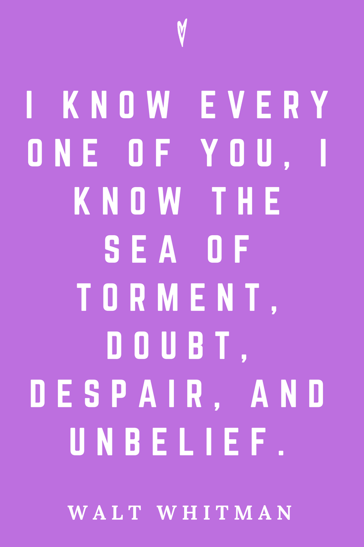 Walt Whitman • Top 35 Quotes • Peace to the People • Author • Writer • Poet • Culture • Motivation • Wisdom • Inspiration • I Know.png