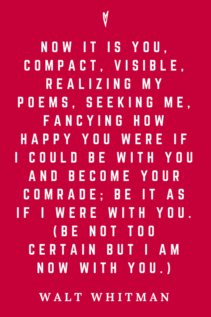 Walt Whitman • Top 35 Quotes • Peace to the People • Author • Writer • Poet • Culture • Motivation • Wisdom • Inspiration • It Is You.png