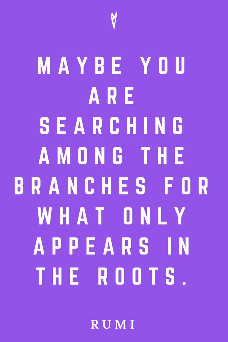 Rumi • Top 25 Quotes • Peace to the People • Spirituality • Poetry • Motivation • Wisdom • Inspiration • Roots.png