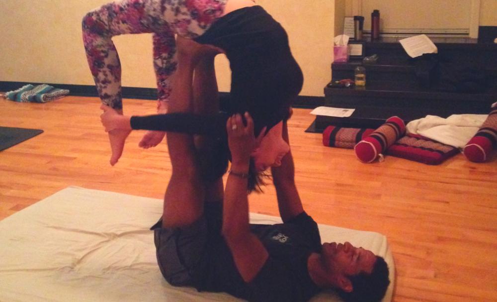 Charles Gibson Acro Yoga