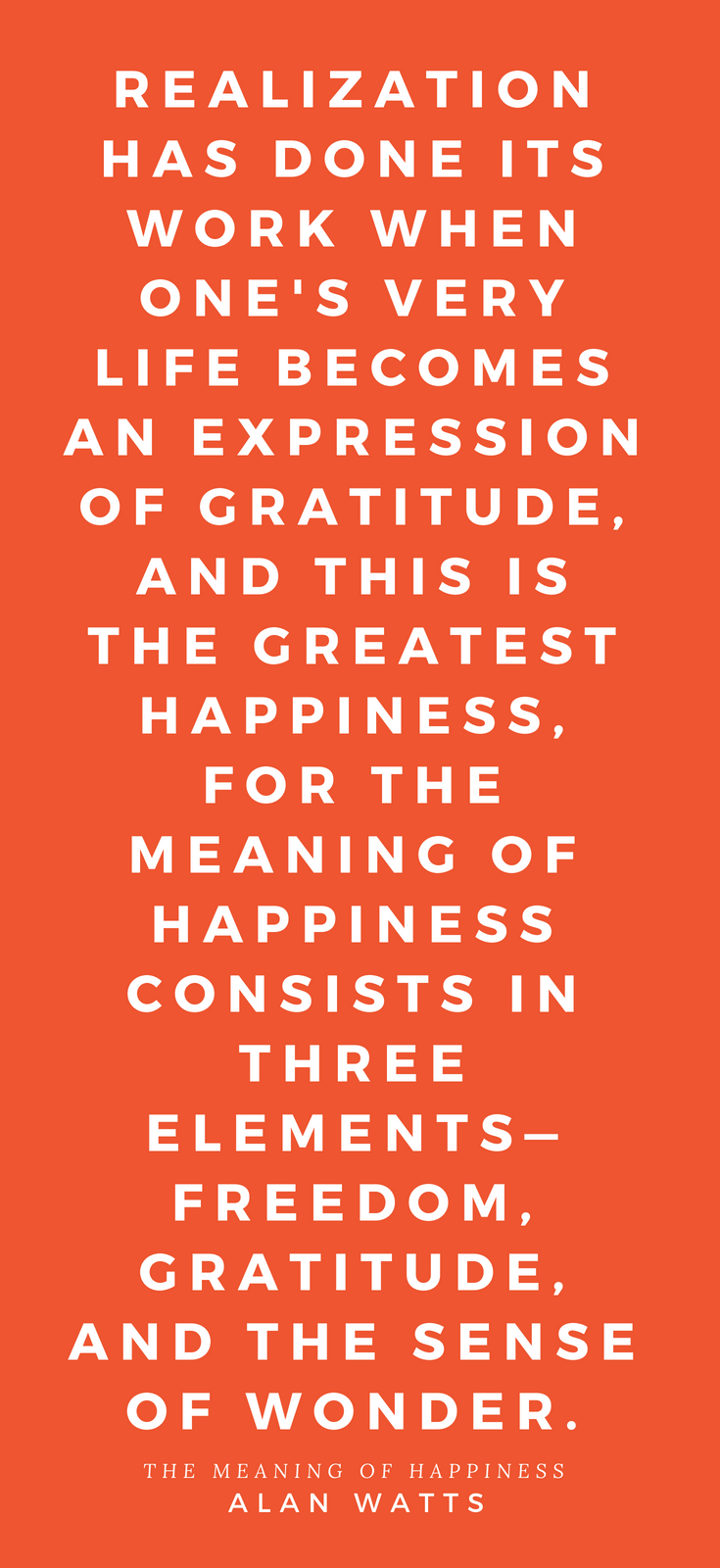 The Meaning of Happiness •The Quest for Freedom of the Spirit in Modern Psychology and The Wisdom of the East • Alan Watts • New World Library • Book Review • Peace to the People • Realize.png
