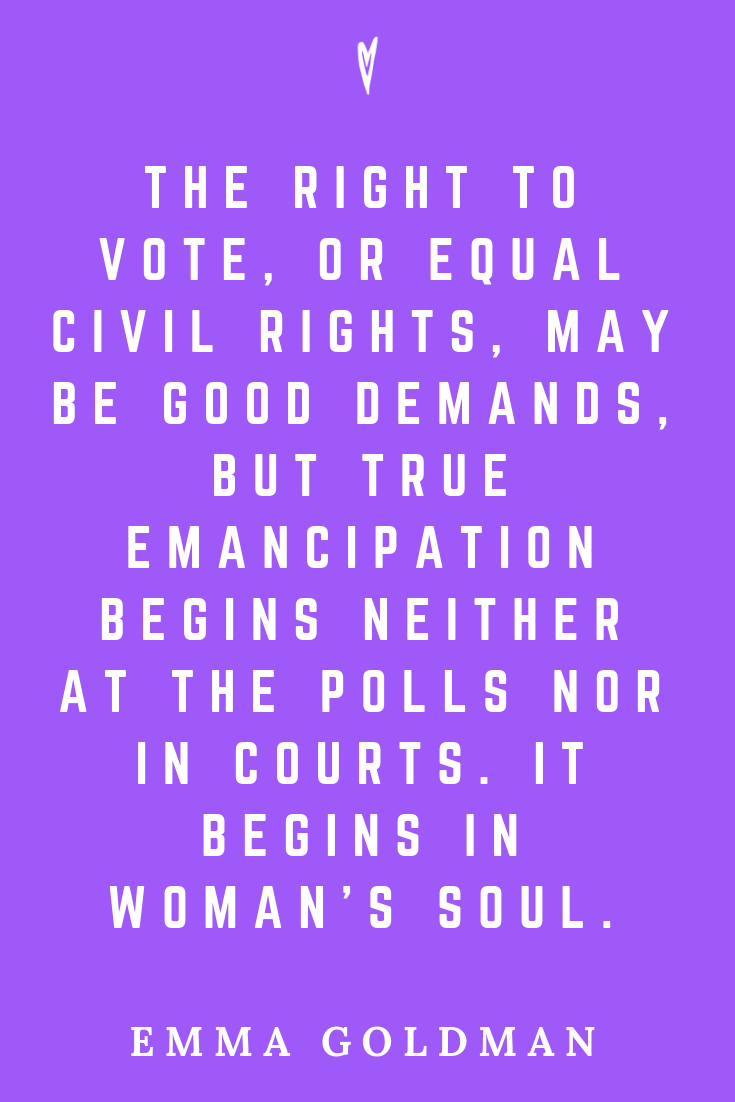 Top 25 Emma Goldman Quotes • Peace to the People • Pinterest • Mindfulness, Motivation, Wisdom • Civil Rights and Emancipation.png