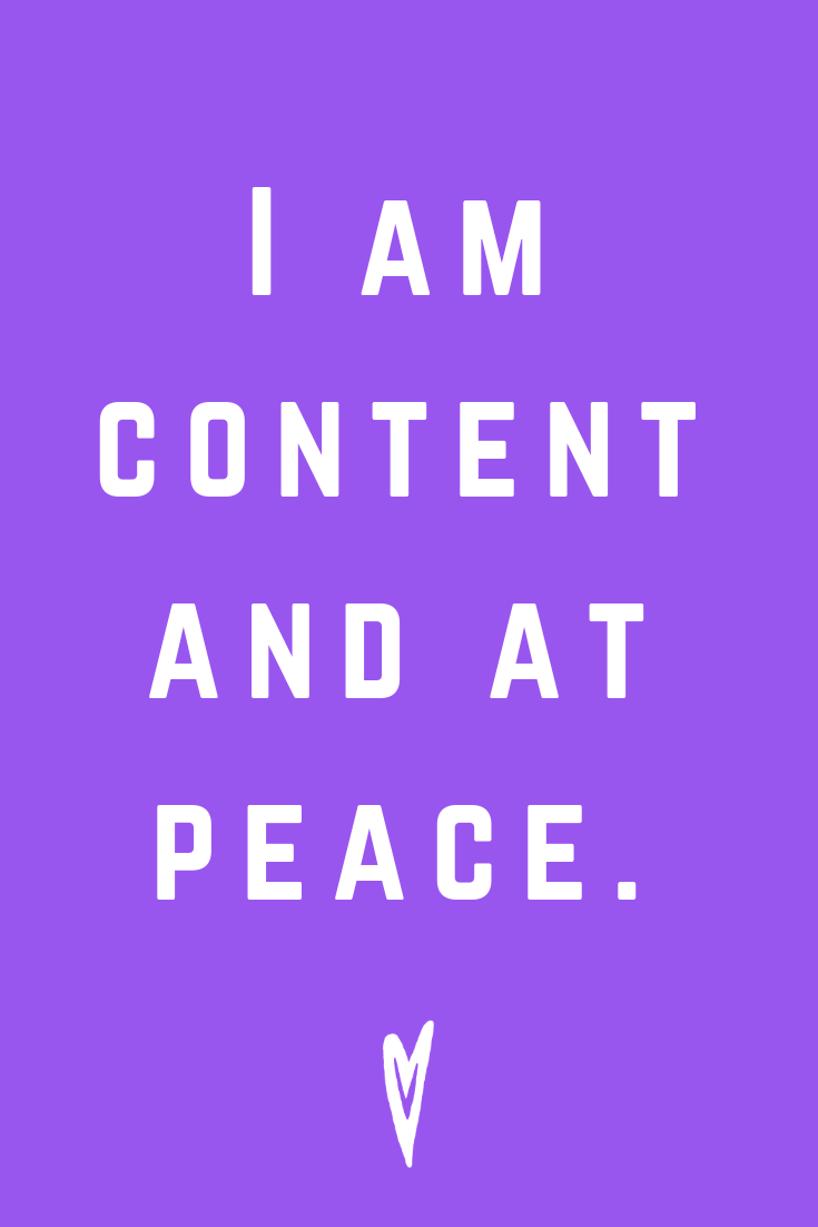 Positive Affirmations ♥ Meditation ♥ Mantras ♥ Wellness ♥ Peace to the People ♥ Joy ♥ Mindfulness ♥ Content and at Peace