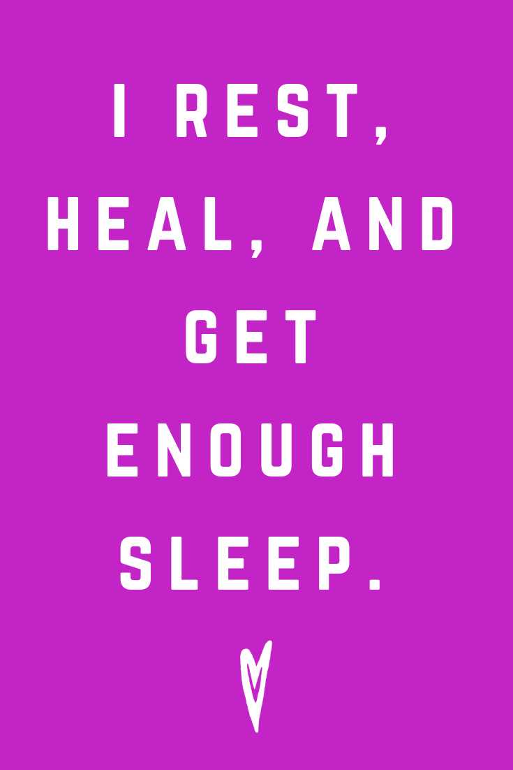 Positive Affirmations ♥ Meditation ♥ Mantras ♥ Wellness ♥ Peace to the People ♥ Joy ♥ Mindfulness ♥ Rest Heal Get Enough Sleep