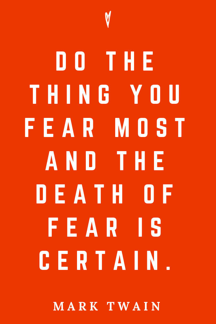 ♥ Mark Twain Quotes • Peace to the People • Pinterest • Mindfulness, Motivation • Wisdom • Death of Fear.png