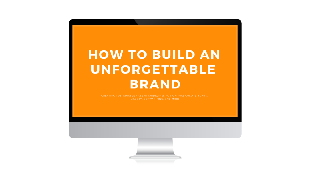 Online Course • How to Build an Unforgettable Brand • Branding Services • Digital Marketing • Peace to the People • Kelli Hess