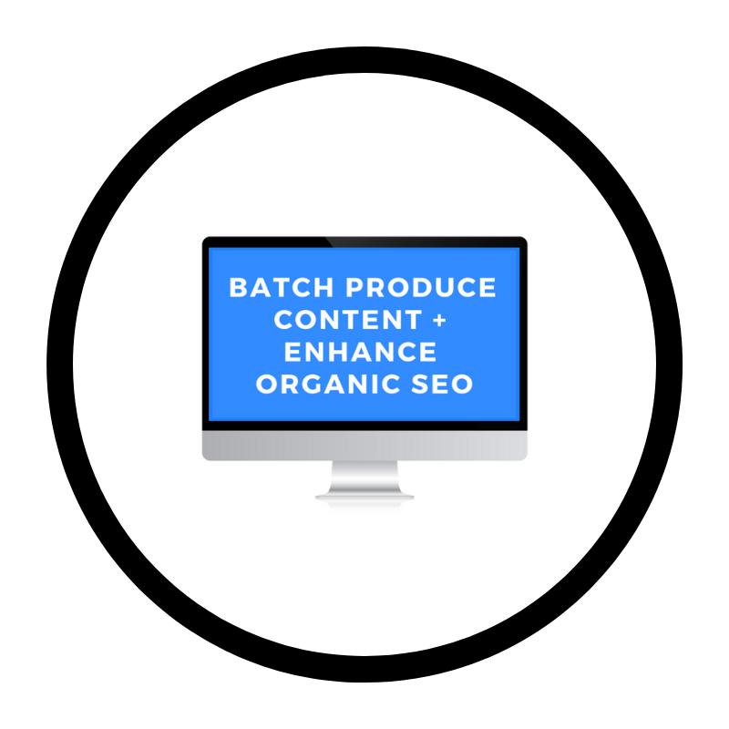 Branding Services • Digital Marketing • Brand Management • Entrepreneurship • Small Business • Online Course + Training • Batch Produce Content + Enhance Organic SEO