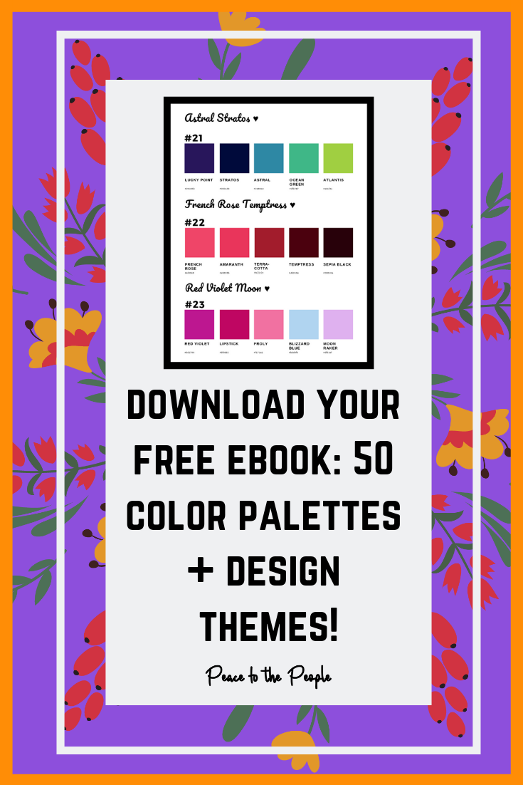 Peace to the People • Digital Marketing • Free Download • Color Palettes • Color Themes (6).png