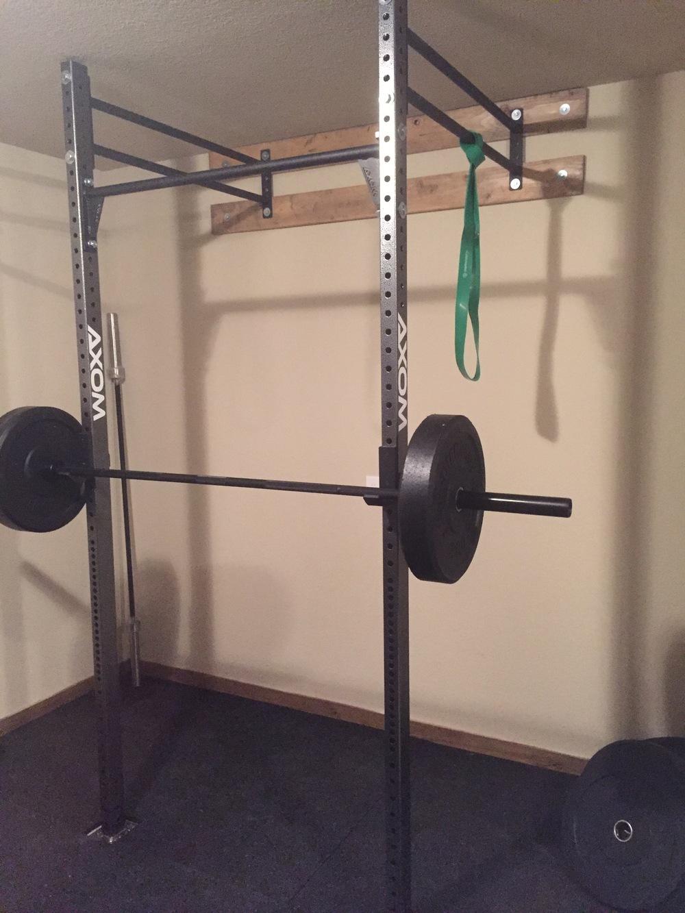 Folding squat rack i foldable for garage picture of u neace