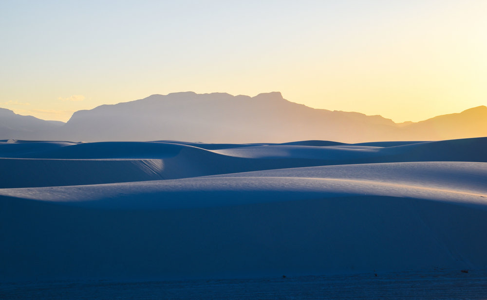 """ Lunar ,"" White Sands National Monument"