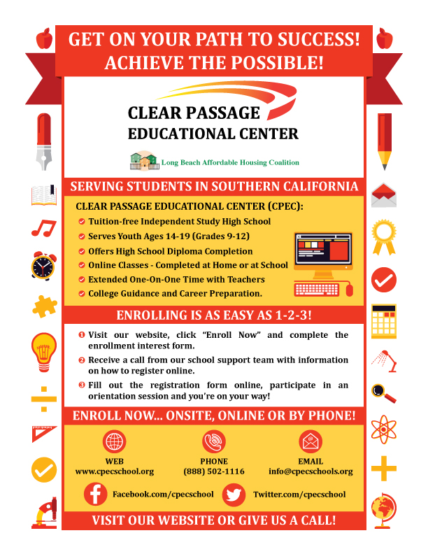 Get On Your Path To Success Clear Passage Educational Center Offers