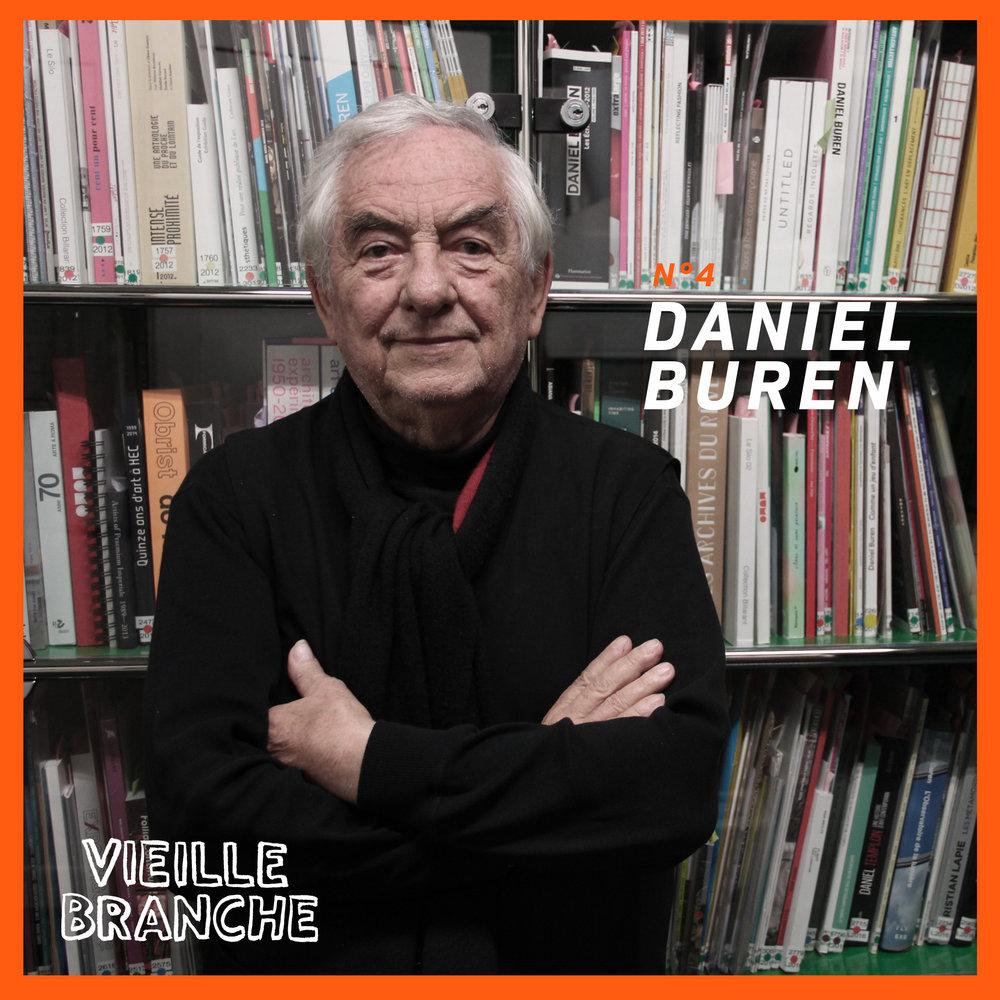 Épisode #4 : Daniel Buren, artiste contemporain