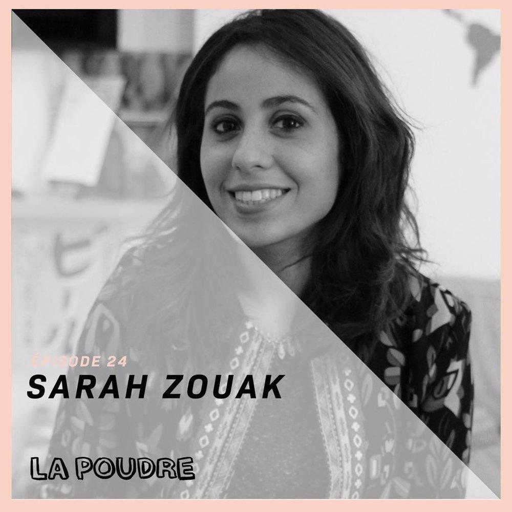 Épisode #24 - Sarah Zouak