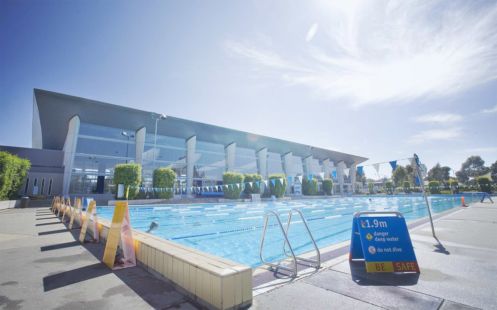 MARC outdoor 50m pool