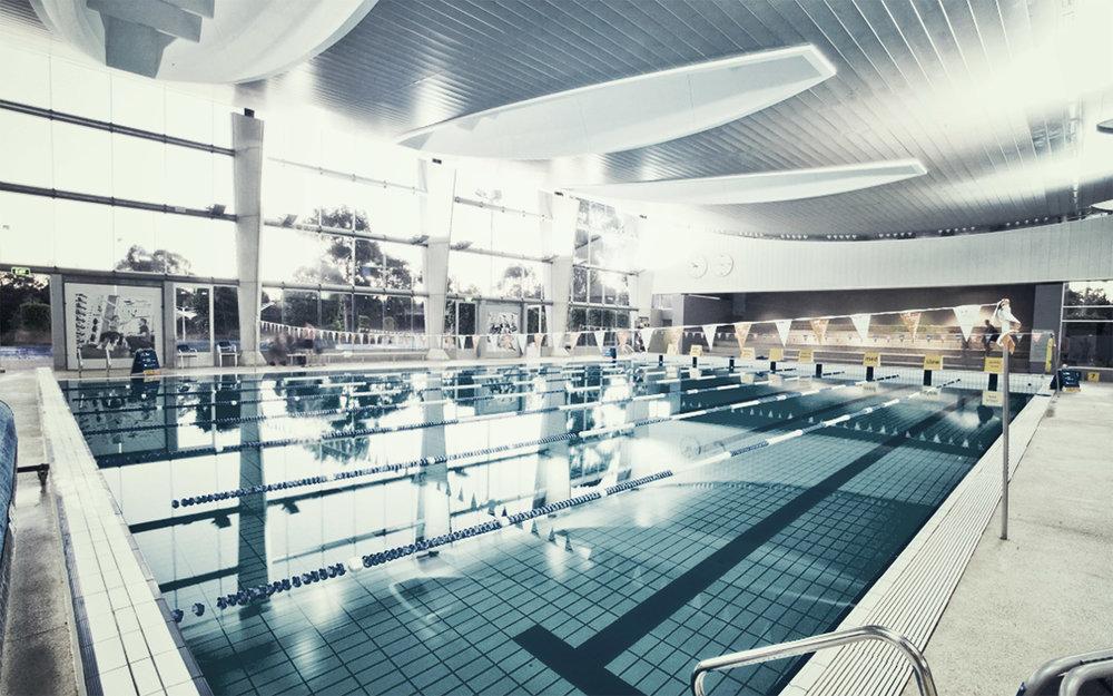 MARC indoor 25m pool