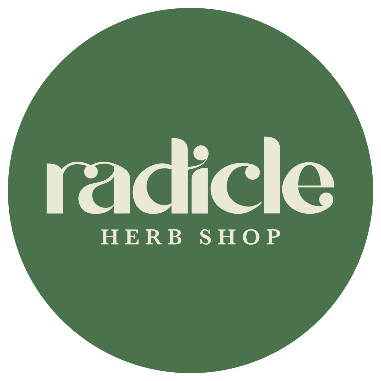 Radicle Herb Shop