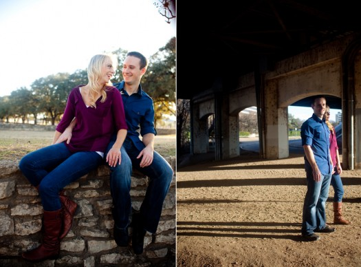 Long Center Engagement Photography