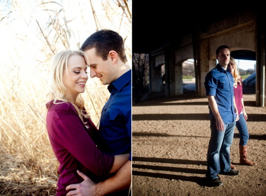 Town Lake Engagement Photographer