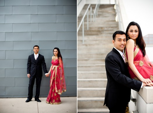 magazine style engagement photos