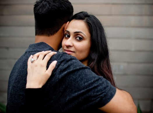 downtown austin engagement photography