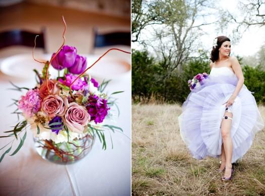 bridal florals driftwood
