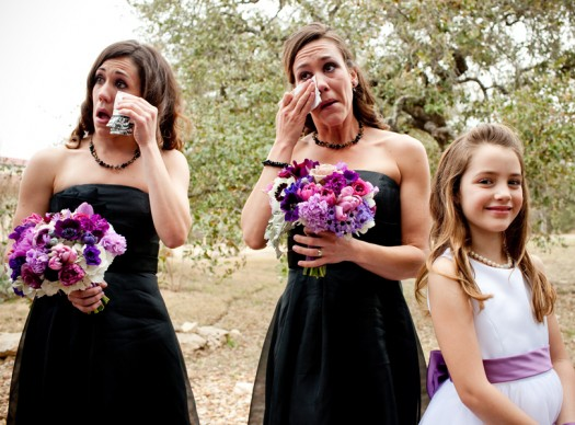 bridemaids and flower girl