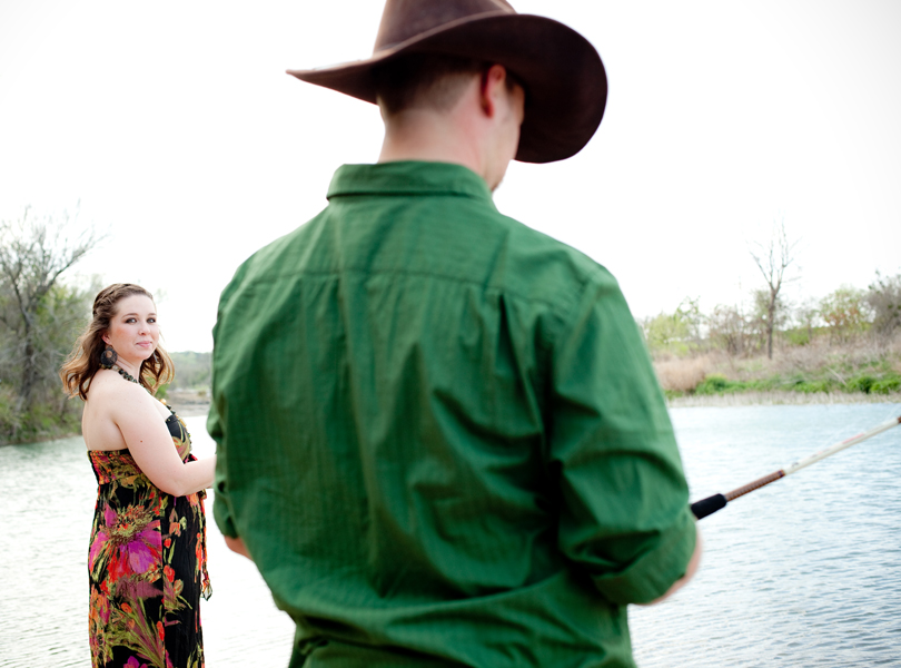 fishing together engagement