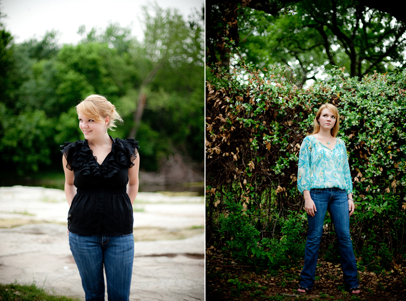 central texas senior portraits