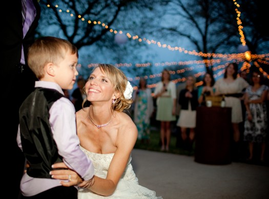 ring bearer and bride