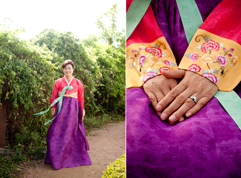 traditional asian wedding attire, she and he