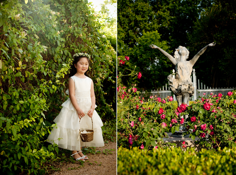 flower girl, austin wedding