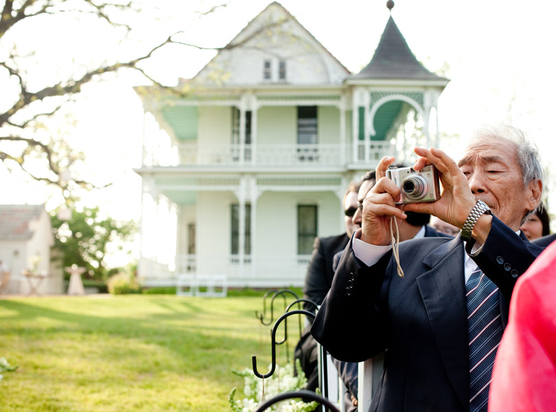 taking pictures of taking pictures, barr mansion wedding photography