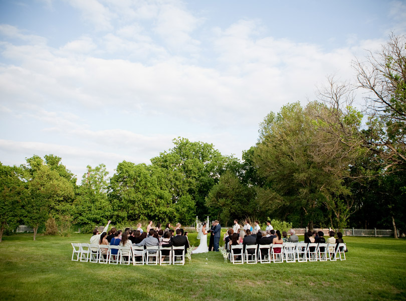 wide shot of wedding ceremony, destination wedding photography