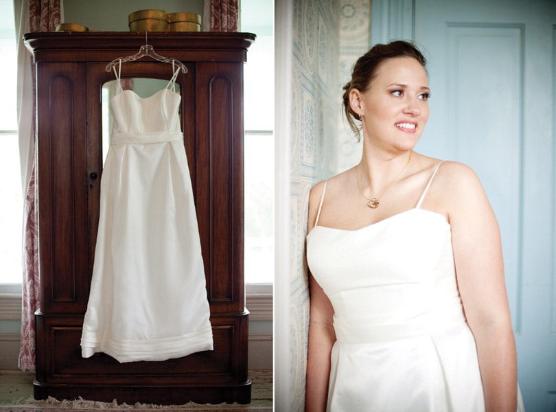 Bride and Wedding dress Austin Wedding Photographer