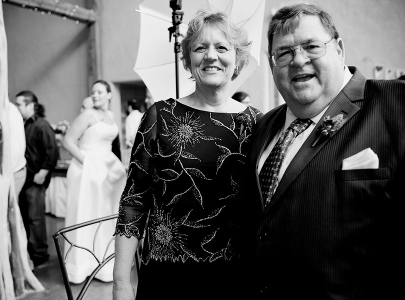 mother and father of the bride at barr mansion,