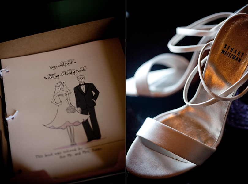 wedding shoes, childrens entertainment at your wedding, bridal coloring book