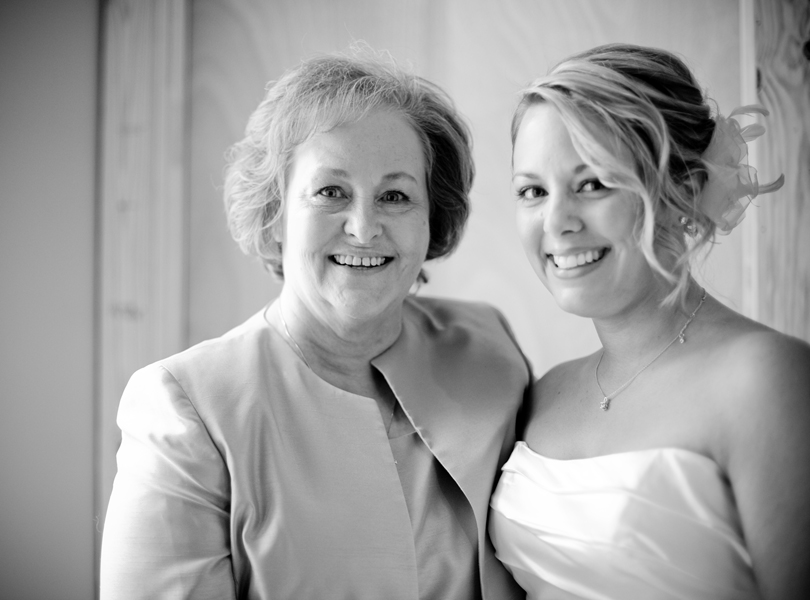 mother of the bride and bride, central texas wedding photography