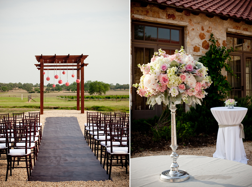 petal pushers flowers, alter carnation hanging balls, central texas wedding pictures