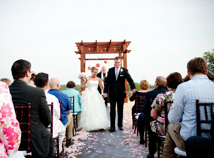 wedding recessional, san antonio weddings