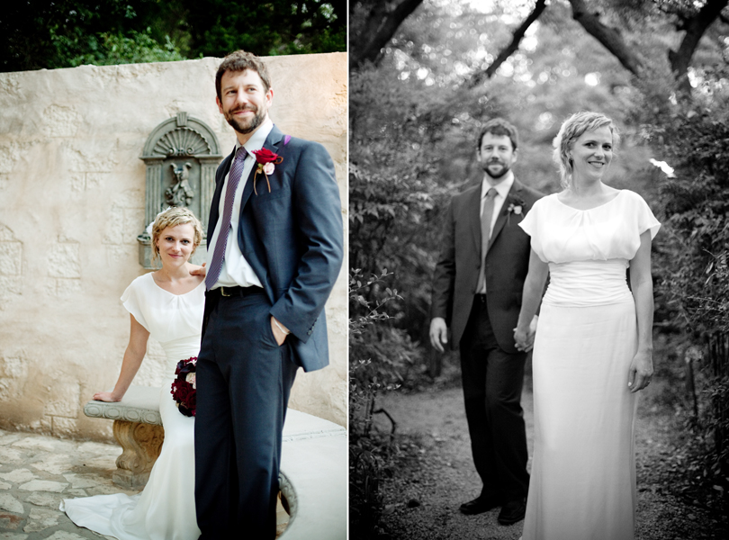 bride and groom portrait austin wedding photography