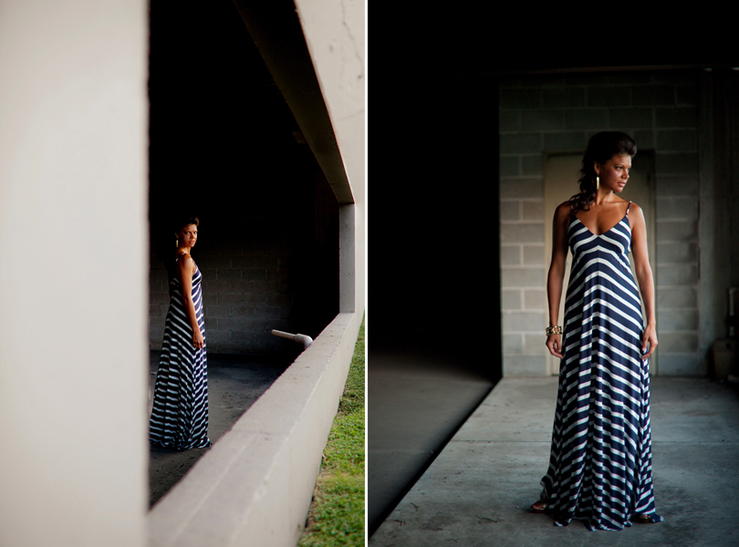 dress shop, kaylin johnson, angela parker, LucieMarie austin, corrine rotan, maxi dress, stripes, fashion photography austin