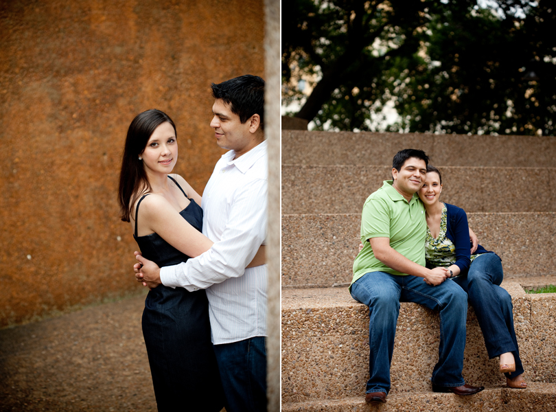 destination Fort Worth engagement session