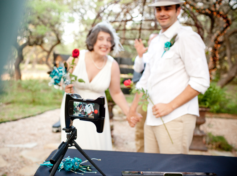 skyped wedding elopement, skyped wedding ceremony