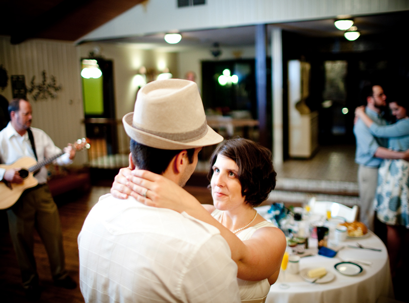 first dance, bride and groom, inn at wild rose hall