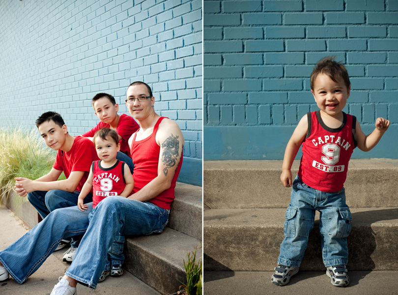 red blue, toddler pictures, hip family portraits